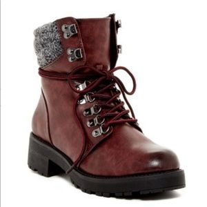 MIA Shoes Maylynn Faux Shearling Lined Boot R15